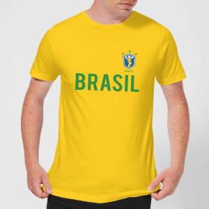 Toffs Brazil Country Men's T-Shirt - Yellow