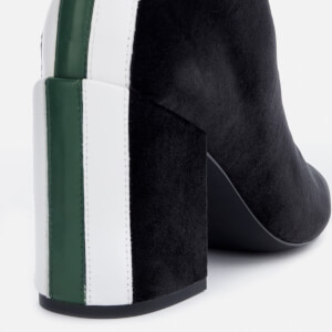 Senso Women's Jensen IV Velvet Heeled Ankle Boots - Ebony: Image 4