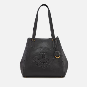 Lauren Ralph Lauren Women's Merrimack Reversible Medium Tote Bag - Black