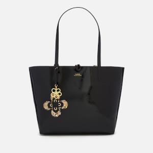 Lauren Ralph Lauren Women's Reversible Tote Bag - Black Natural
