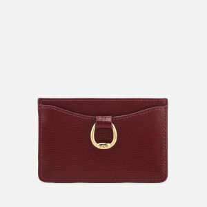 Lauren Ralph Lauren Women's Bennington Mini Card Case - Merlot