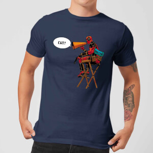 Marvel Deadpool Director Cut T-shirt - Navy