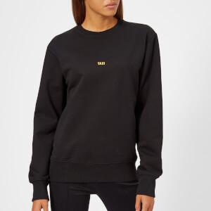 Helmut Lang Women's Taxi London Crew Neck Sweatshirt - Black