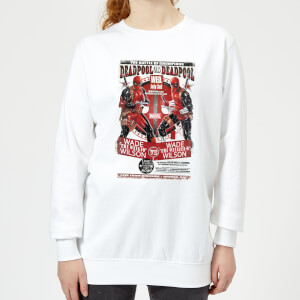 Marvel Deadpool Kills Deadpool Women's Sweatshirt - White