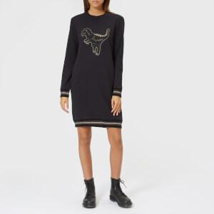 Coach 1941 Women's Rexy Sweatshirt Dress - Dark Shadow