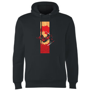 Marvel Deadpool Blood Strip Hoodie - Schwarz