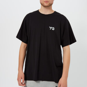 Y-3 Men's Signature Short Sleeve T-Shirt - Black