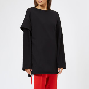 Y-3 Women's 2 Layer Fleece Sweater - Black