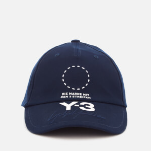 Y-3 Men's Street Cap - Night Indigo