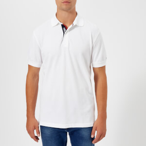 Tommy Hilfiger Men's WCC Hilfiger Polo Shirt - Bright White