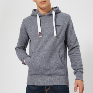 Superdry Men's Orange Label Hoody - Gravel Blue Grit
