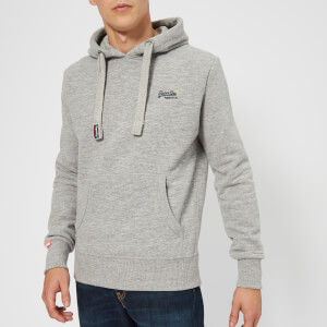 Superdry Men's Orange Label Hoody - Iced Grey Grit