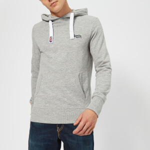 Superdry Men's Orange Label Lite Hoody - Iced Grey Grit