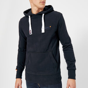 Superdry Men's Orange Label Lite Hoody - Truest Navy