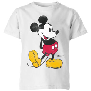 Camiseta Disney Mickey Mouse Pose Clásico - Niño - Blanco