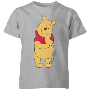 Disney Winnie Puuh Classic Kinder T-Shirt - Grau