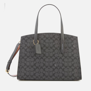 Coach Women's Coated Canvas Signature Charlie Carryall Bag - Denim Midnight Navy