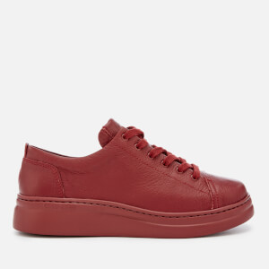 Camper Women's Low Top Trainers - Dark Red