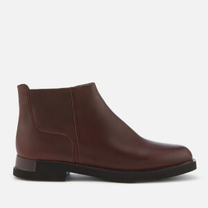 Camper Women's Iman Flat Chelsea Boots - Burgundy