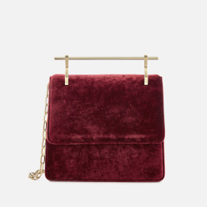 M2Malletier Women's Mini Collectionneuse Bag - Cherry Silk Velvet