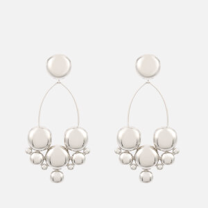 Isabel Marant Women's Circle Cluster Boo Earrings - Silver