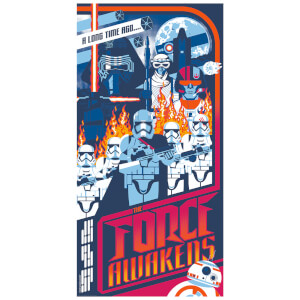 Star Wars: The Force Awakens Exclusive Variant Print by Mark Daniels