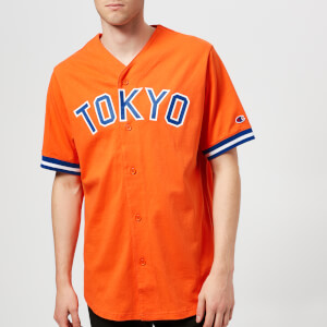 Champion X Beams Men's Baseball Shirt - Orange