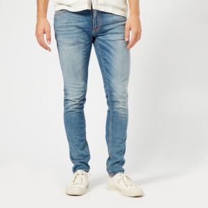 Nudie Jeans Men's Skinny Lin Jeans - Slowly Worn