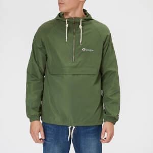 Champion Men's Hooded Jacket - Green