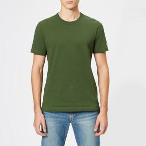 Champion Men's Sleeve Logo T-Shirt - Green