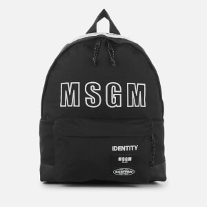 Eastpak x MSGM Padded Backpack - MSGM Black