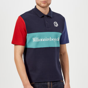 Billionaire Boys Club Men's Cut and Sew Polo Shirt - Blue
