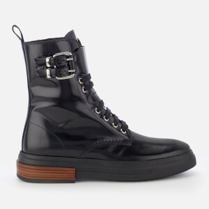 Tod's Women's Lace Up Boots - Black