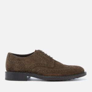 Tod's Men's Brogue Derby Shoes - Brown