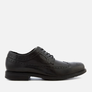 Rockport Men's Essential Detail II Waterproof Wing Tip Shoes - Black