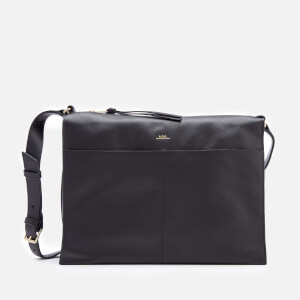 A.P.C. Women's Suzanne Shoulder Bag - Black