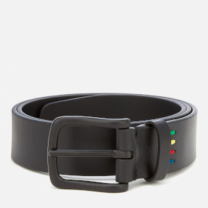 Paul Smith Men's Zebra Belt - Black
