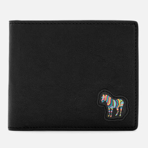 Paul Smith Men's Zebra Billfold Wallet - Black