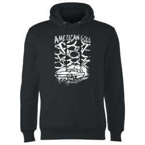 Sudadera American Gods Coche Tormenta - Negro