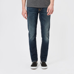 Nudie Jeans Men's Lean Dean Tapered Jeans - Dark Blues