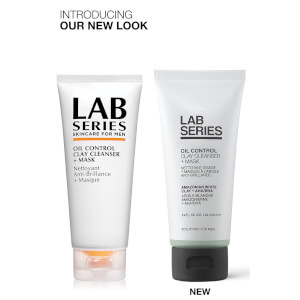 Limpiador y mascarilla de arcilla Oil Control de Lab Series Skincare for Men 100 ml