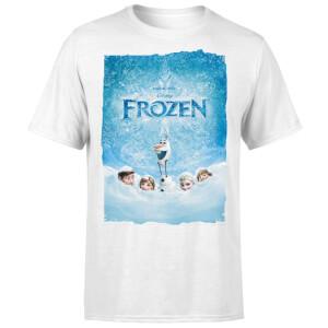 Frozen Snow Poster Men's T-Shirt - White