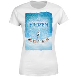 Frozen Snow Poster Women's T-Shirt - White