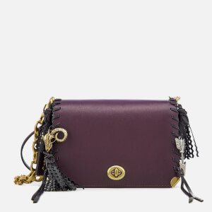 Coach 1941 Women's Charms Dinky 19 Cross Body Bag - Plum/Multi
