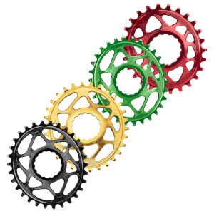 AbsoluteBLACK RaceFace Cinch Direct Mount Oval MTB Chainring