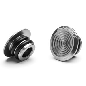 AbsoluteBLACK Aluminium Bar Plugs