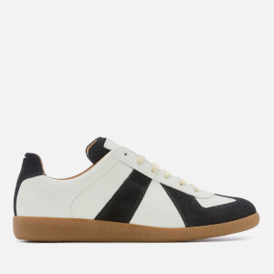 Maison Margiela Men's Replica Trainers - Pearl/Black