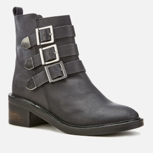 Superdry Women's Cheryl Military Boots - Black: Image 2