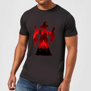 Harry Potter Minerva McGonagall Silhouette Men's T-Shirt - Black