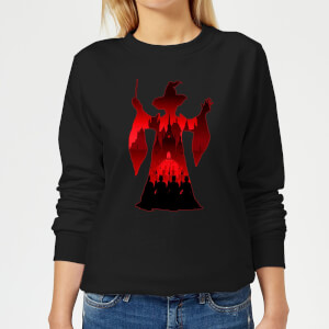Harry Potter Minerva McGonagall Silhouette Women's Sweatshirt - Black